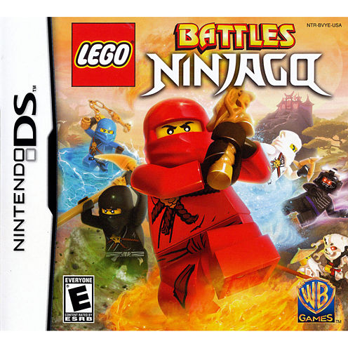 Lego Battles Ninjago Ds Lego Video Game-Nintendo 3DS