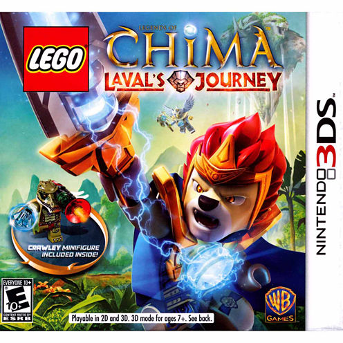 Lego Chima Laval Xl Video Game-Nintendo 3DS