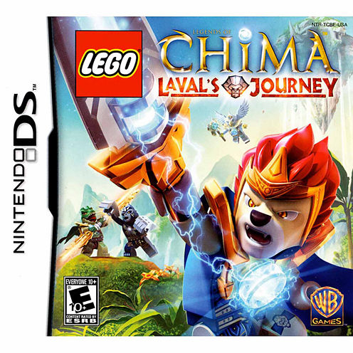 Lego Chima Laval Ds Video Game-Nintendo 3DS