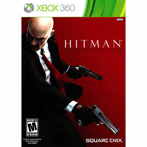 Hitman Absolution Video Game-XBox 360