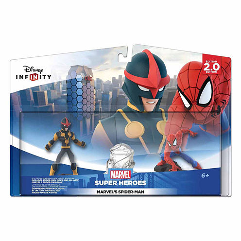 Disney Inf 2 Spiderman Playset Video Game
