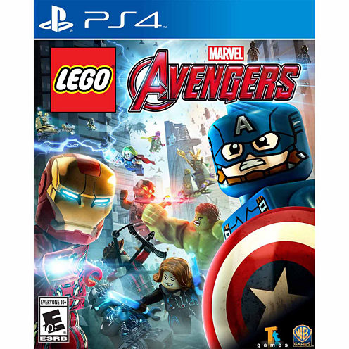 Lego Marvel Avengers Video Game-Playstation 4
