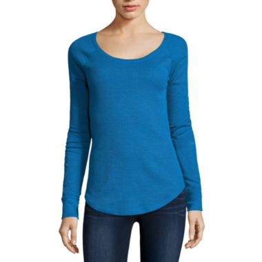 jcpenney.com | Arizona Long Sleeve Thermal Top Juniors