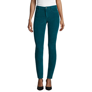 Arizona Skinny Fit Corduroy Pants - Juniors - JCPenney