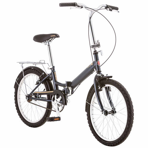 "Schwinn Hinge 20"" Unisex Folding Bike"