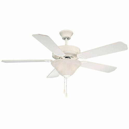 52in White Indoor Ceiling Fan