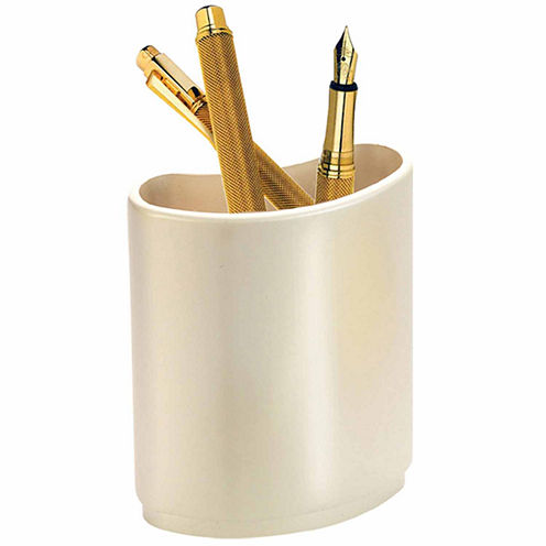 Natico Silver Pen Holder
