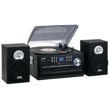jcpenney.com | Jensen Turntable with CD, Radio and Remote