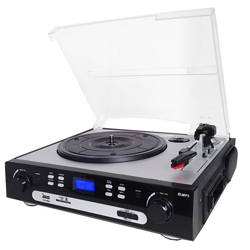 Supersonic SC-8000TR 3-Speed Professional Turntable System