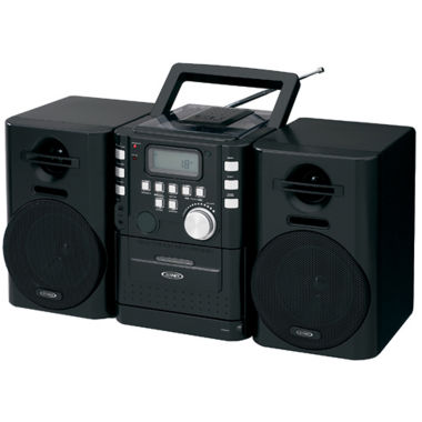 jcpenney.com | Jensen CD-725 Portable CD Music System with Cassette and FM Stereo Radio