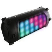 Sharper Image SBT614BK Wireless Bluetooth Party Speaker with LED Color-Changing Lights