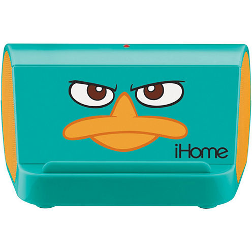 "Kiddesigns EK-DF-M9 Phineas and Ferb Agent ""P"" Portable Speaker System for MP3, iPod and CD Player"
