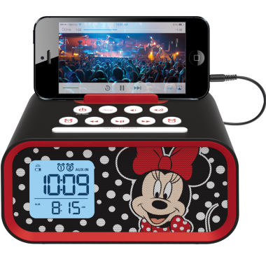 jcpenney.com | Kiddesigns EK-DM-M23 Minnie Mouse Line in USB Alarm Clock