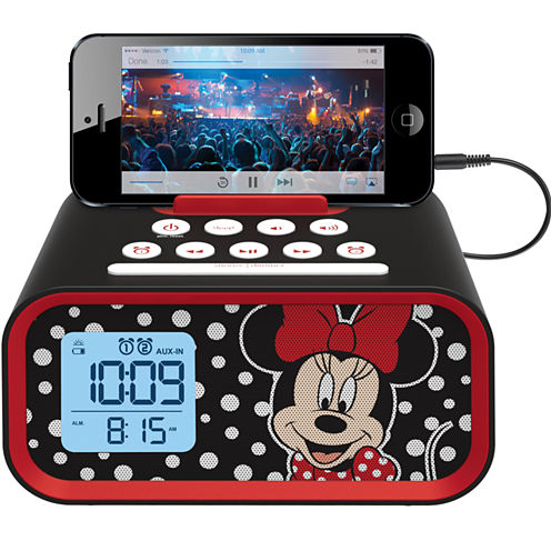 Kiddesigns EK-DM-M23 Minnie Mouse Line in USB Alarm Clock