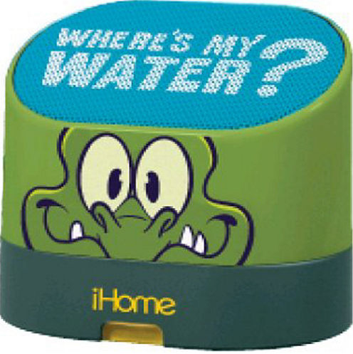 Kiddesigns EK-DW-M63 Swampy Where's My Water Rechargeable Mini Speaker
