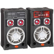 "IQS 6"" Professional Bluetooth Speaker Pair"