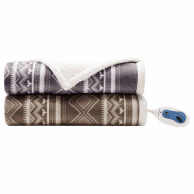 jcpenney.com | Woolrich Anderson Berber Heated Throw