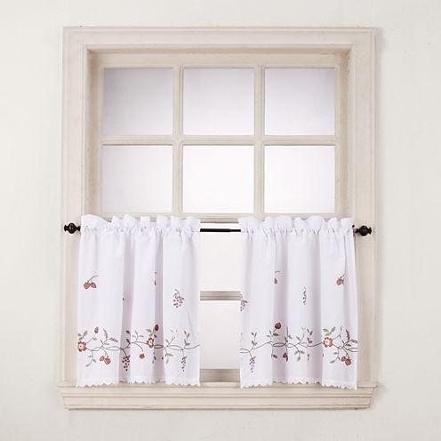 Charlene Rod-Pocket Window Tiers