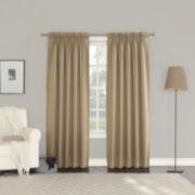 Sun Zero Emory Room Darkening Pinch-Pleat Curtain Panel