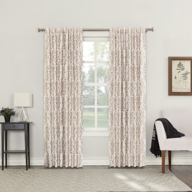 jcpenney.com | Sun Zero Rona Blackout Back-Tab Curtain Panel