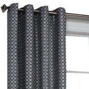 Belgard Geometric Jacquard Grommet-Top Window Panel