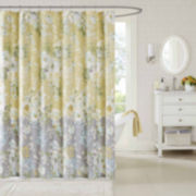 Madison Park Addison Cotton Shower Curtain