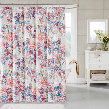 jcpenney.com | Madison Park Raylene Cotton Shower Curtain