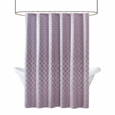 jcpenney.com | Madison Park Morris Jacquard Shower Curtain