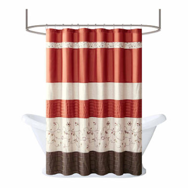 jcpenney.com | Madison Park Mandara Embroidered Shower Curtain