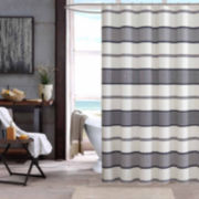 INK+IVY Kora Cotton Shower Curtain