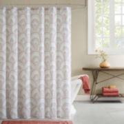 INK+IVY Muriel Cotton Shower Curtain