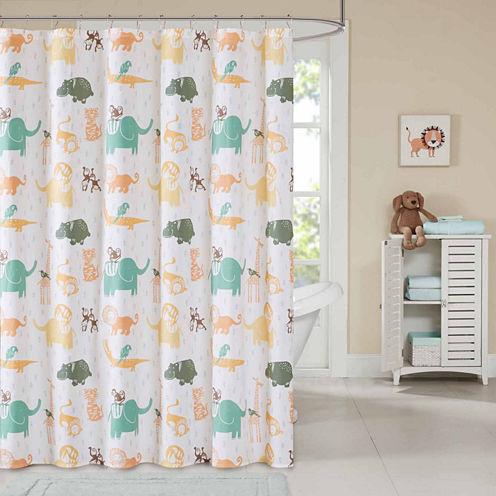INK+IVY Jacala Cotton Shower Curtain