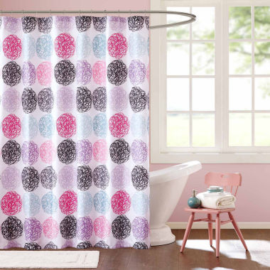 jcpenney.com | Mi Zone Audrina Microfiber Shower Curtain