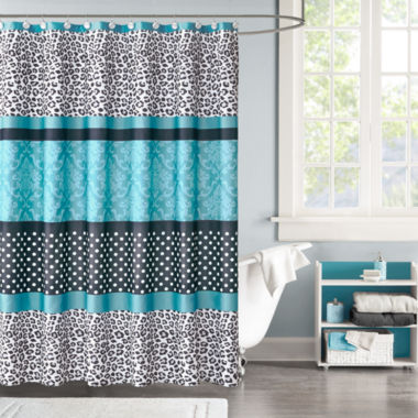 jcpenney.com | Mi Zone Camille Microfiber Shower Curtain