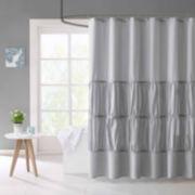Mi Zone Delia Microfiber Shower Curtain