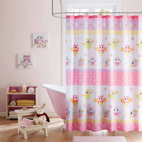Mi Zone Beaked Betty Shower Curtain