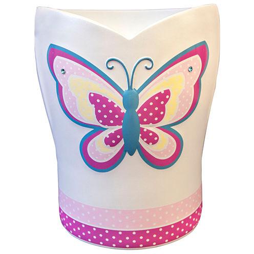 Butterfly Dots Wastebasket