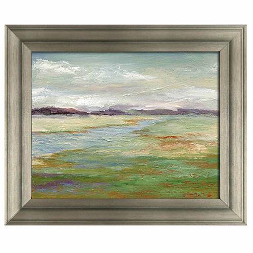 Meadow Stream II Framed Art