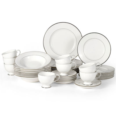 Mikasa Cameo Platinum 40-pc. Dinnerware Set  sc 1 st  JCPenney & Mikasa Cameo Platinum 40-pc. Dinnerware Set - JCPenney