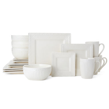 jcpenney.com | Mikasa Italian Countryside Square 20-pc. Dinnerware Set
