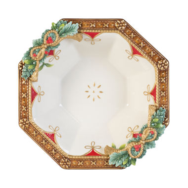 jcpenney.com | Fitz & Floyd Yuletide Holiday Serving Bowl
