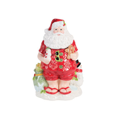 jcpenney.com | Fitz & Floyd Coastal Clause Cookie Jar