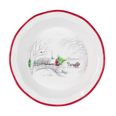 jcpenney.com | Fitz & Floyd Vintage Holiday Pie Plate