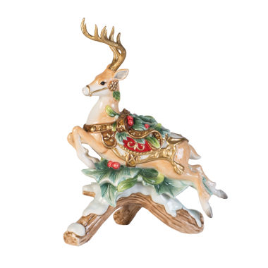 jcpenney.com | Fitz & Floyd Yuletide Holiday Candleholder Left Facing