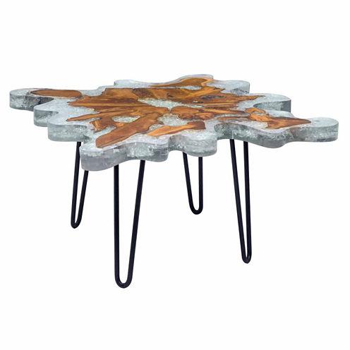 Zuo Modern Jigsaw Square Coffee Table