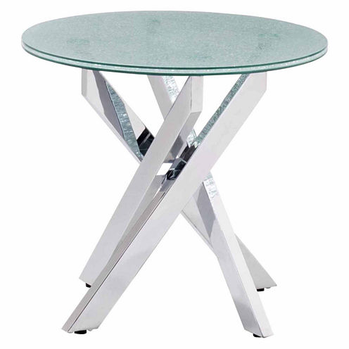 Zuo Modern Stance Crackled End Table