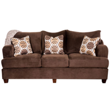 jcpenney.com | Ilyana Contemporary Fabric Pad-Arm Sofa