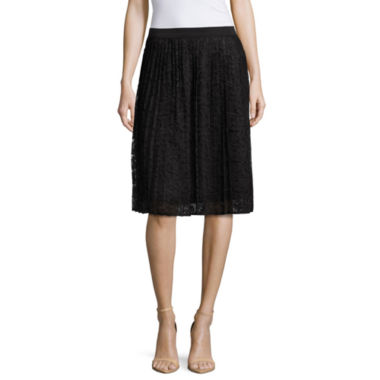 jcpenney.com | Liz Claiborne Pull-On Lace Pencil Skirt
