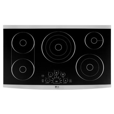 "jcpenney.com | LG Studio 36"" Radiant Cooktop"