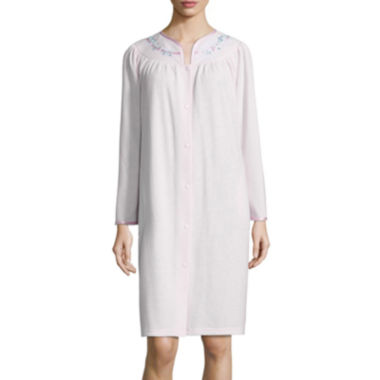 jcpenney.com | Adonna Long Sleeve Antique Satin Robe